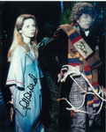 Tom Baker, Lalla Ward -  Multi signed original autograph not a copy 10273